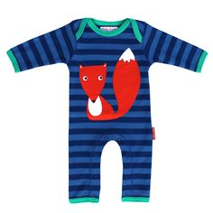 100% Organic cotton super soft animal appliqué sleepsuit. Our gorgeous appliqué is bold, fun and super soft. It's kind to your little ones skin and good for the planet too. The envelope neckline and poppers on the inside leg makes changing easy.