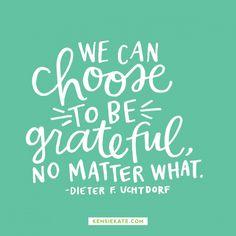 Stay grateful.