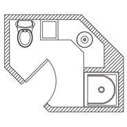 KOHLER   Floor Plan Options   Bathroom Ideas & Planning   Bathroom  