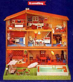 Keys to the Crib Vintage Dollhouse, Diy Dollhouse, Dollhouse Furniture, Dollhouse Miniatures, Miniature Fairy Gardens, Miniature Houses, Miniature Dolls, Play Houses, Doll Houses