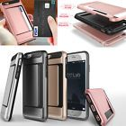 Shockproof Hybrid Hard Armour Card TPU Case Cover For Apple iPhone 5G/5S