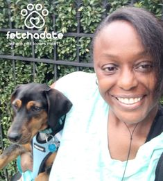 """Shamontiel has a featured blog on FetchaDateApp: """"How My Dog Is Winning People Over and Making Me More Socially Awkward"""" #dogowner #dogs #pets #Dachshund #sociallyawkward #socialisolation #dating #onlinedating #singlereadytomingle (Photo: Shamontiel L. Vaughn) Super Cute Dogs, Virtual Pet, Find Pets, Meeting New People, German Shepherd Dogs, Dog Owners, Awkward, Dachshund, Things To Think About"""