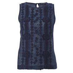 Annie Embroidered Top Nocturnal by French Connection