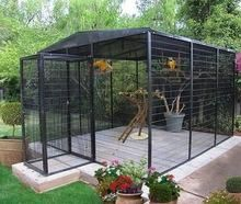 Outdoor bird aviary @ SemperfiBirdsupply on shopify.com