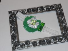 st patty day headband will fit infant to toddler