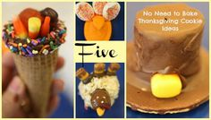 No Need to Bake Thanksgiving Cookie Ideas Thanksgiving No Need to Bake Cookie & Treat Ideas