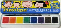 ☆ Playtime Water Colors Paint ☆