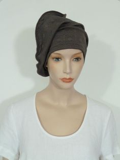 Whitebagheera fearlessly chic taupe quilted cloque jersey slouchy beanie hat   | eBay
