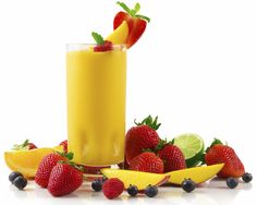 [Small Meal Recipe] Mango Madness Protein Shake, 217 calories, 25g protein