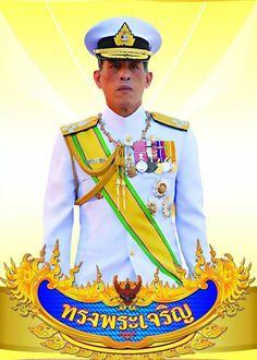 Poster Background Design, Vector Background, King Rama 10, Culture Of Thailand, Bigbang Yg, Thai Art, King Of Kings, Naruto Uzumaki, King Queen