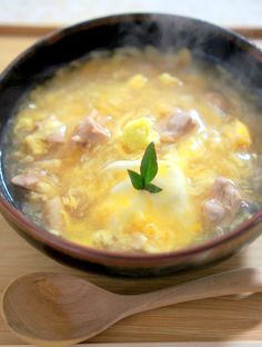 生姜たっぷりの鶏卵うどん by manngo / 片栗粉であんかけにした温まるおうどんです。 / ナディア