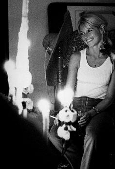 Brigitte Bardot on her 30th Birthday
