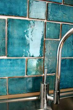 obklad obklad  Aqua marine 20x20 cm exclusive temperature 1200 mix 19,5x19,5 cm tyrkysová  , výroba manufaktura tyles 1/m2
