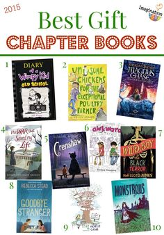 The Best MIddle Grade Children's Chapter Books 2015 - great gift ideas!