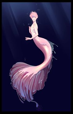 Merman Jimin by shaerahaek on DeviantArt Anime Mermaid, Mermaid Art, Tattoo Mermaid, Baby Mermaid, Vintage Mermaid, Jimin Fanart, Inspiration Art, Character Design Inspiration, Fantasy Kunst
