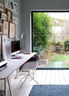 Home Office Design Ideas For Small Spaces Garden Home Office, Home Office Design, Home Office Decor, House Design, Home Decor, Office Furniture, Furniture Ideas, Office Designs, Office Style