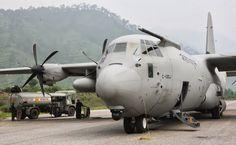 Indian Air Force Lockheed C-130J.