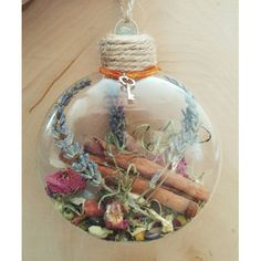 New Home Blessing Ornament - Witch Ball - Herbal Blessing - Yule Decor - House Protection Spell - Tree Ornament - Wiccan - Pagan(Diy Art For Bedroom) Holiday Crafts, Christmas Bulbs, Christmas Crafts, Pagan Christmas Tree, Yule Decorations, Christmas Decorations, Wiccan Crafts, Yule Crafts, Diy Crafts