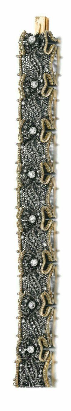 Boucheron. Platino y diamantes. Sencillamente precioso.
