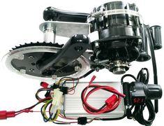Worlds best e-bike diy kit affordable Mid-drive motor kit DH 148mm ISIS Bottom…