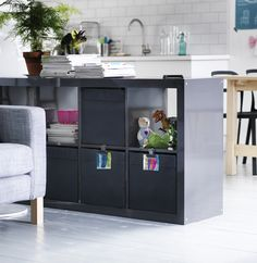 Designed by our wonderful Tord Bjorkland, EXPEDIT is a stylish way to store and display. From fairy tales to first editions. Line the walls or divide a room. It's simply a great all-rounder.