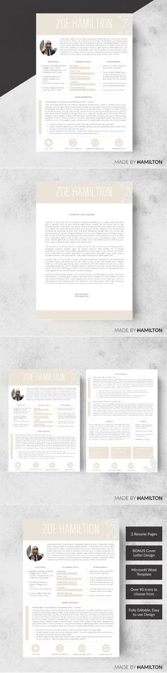 Clean Resume Cv Vol 8 Resume, Cleanses and Words - cover for resume