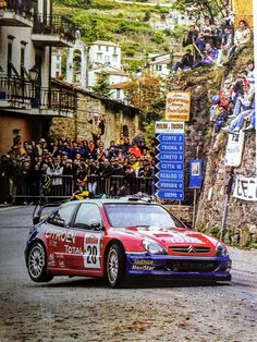 Citroën Xsara WRC Sebastien Loeb Rally Sanremo 2003