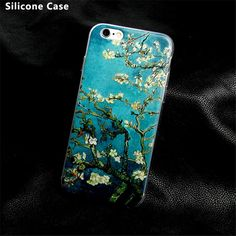 Soft Silicone Mobile Phone Cover For iPhone SE 4 4s 5 5s 5c 6 6s 7 Plus - 20 patterns!