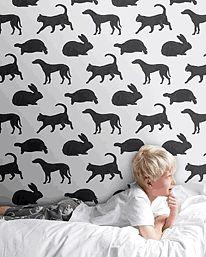 Animal Magic Gray från PaperBoy