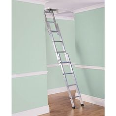 The 3 section Easiloft aluminium loft ladder is ideal in restricted spaces. This ladder is easy to use and designed for occasional use in the home. Certified to BSEN14975-2006 with spring loaded catches for extra security when stored or in… The post Easiloft 3 Section Aluminium Loft Ladder appeared first on The Access Panel Company. Access Panel, British Standards, Aluminium Alloy, Ladder, New Homes, Loft, Construction, Delivery, House