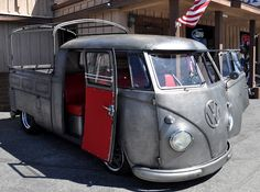 Just a Car Guy: Ed Fox's pewter finish VW van... the one with that handmade speedometer!