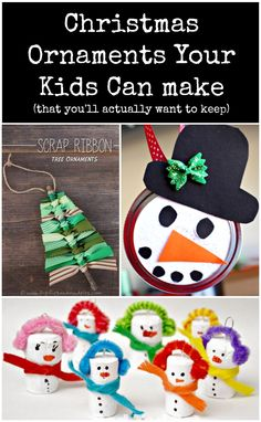 5 DIY Christmas Ornaments to Craft With Your Kids #SavorTheSeason #Sweepstakes