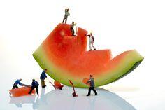 "500px / Photo ""Watermelon Quarry - Little People "" by Leon Dafonte Fernandez"