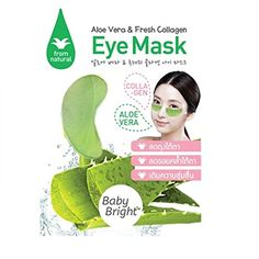Eye Mask with Aloe Vera  Fresh Collagen Wrinkles Dark Circles Puffiness  Bags  100 Natural Anti Aging hydrate  moisturize your skin For Men  Women Pack of 6 ** You can get more details by clicking on the image.