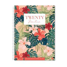 Tropical Burst - 2019 Deen Daily Planner (2 sizes)