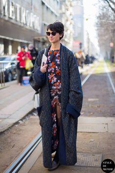 Eva Geraldine, Milan Fashion Week AW 2014 | Style du Monde