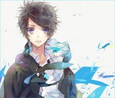 Cool Anime Guys | year ago — 18 notes Anime Manga Cool anime guy Open mouth blue ...