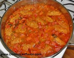Plantain Dumplings with Salami/Bollitos de Platanos con Salami | Delicious Dominican Cuisine