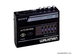 SONY Walkman with 5 band equilizer