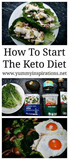 How To Start The Keto Diet - Tips to help you get started with losing weight on the low carb ketogenic diet following my own keto weight loss success experience.