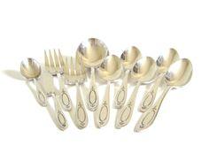 New to LaurasLastDitch on Etsy: Oneida Community Silverware Adam Vintage Serving Pieces Casserole Spoon Serving Spoons Meat Forks Butter Spreader Sugar Spoon Silverplate (58.99 USD)