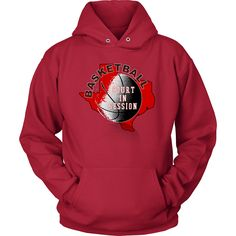 Texas Tech Basketball Court In Session Hoodie