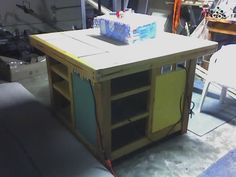 Build a Work Table for your Workshop