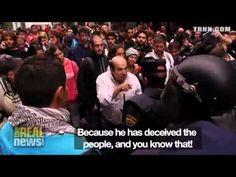 25S España es calificada como dictadura en los medios de todo el mundo #OcupaElCongreso