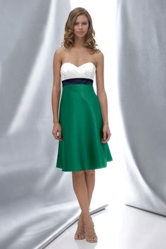 I wish i could wear strapless dresses. This is super cute... but I have no where to wear it.
