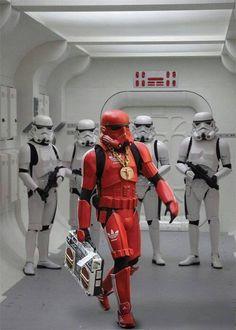 Trooper Swag, Star Wars Art.