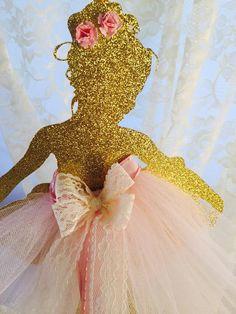 Ballerina Party Ballerina Centerpiece by MemoryKeepsakeParty