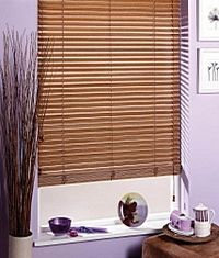 As a natural wood product, wood blinds compliment any interior. They bring style, privacy and light control to contempory and traditional se...