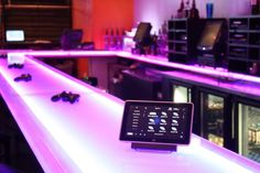 Here is our #Control4 commecial interface QuickControl Pro running on an HP Slate in a bar with 84 tvs via @BlackWireKevin https://twitter.com/BlackWireKevin/status/297109193410891777
