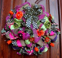 Mackenzie Child Spring/Summer Wreath on Etsy, $185.00